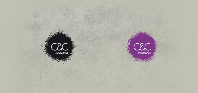 Acad�mie C&C maquillage, cr�ation de la charte graphique