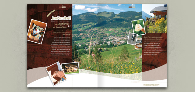 Pages village de la brochure �t� de Ch�tel